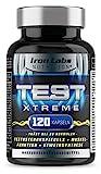 TEST XTREME - Hardcore Booster für Männer mit Aminosäuren, Zink & Vitamin D für...
