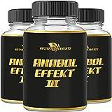 Anabol Effect 3 - Muskelaufbau - Extrem Anabolika - stärkster Testosteron Booster - Pre...